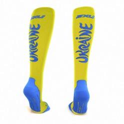 """Компрессионные 2XU спортивные носки """"Ukraine style"""""""