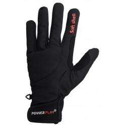 Рукавиці лижні PowerPlay 6916 Чорні M (Універсальні зимові)