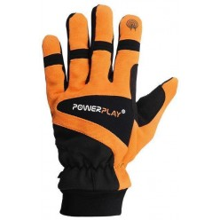 Рукавиці лижні PowerPlay 6906 Оранжеві XL (Універсальні зимові). Дефект
