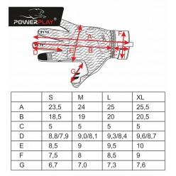 Рукавиці лижні PowerPlay 6916 Чорні XXL (Універсальні зимові)