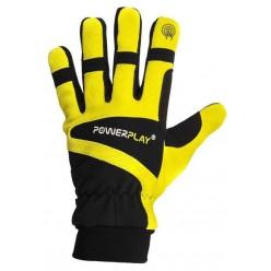 Рукавиці лижні PowerPlay 6906 Жовті M (Універсальні зимові). Дефект