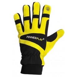 Рукавиці лижні PowerPlay 6906 Жовті XXL (Універсальні зимові). Дефект