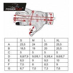 Рукавиці лижні PowerPlay 0091 Чорні XL (Універсальні зимові)