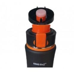 Термокружка КING HoffKH-4371 500мл. Чорно-Оранжева