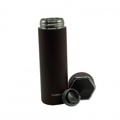 Термопляшка CASNO 450 мл KXN-6057 Коричнева