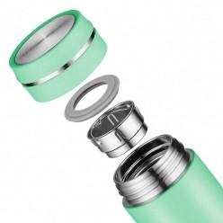 Термопляшка CASNO 450 мл KXN-6059 Зелена