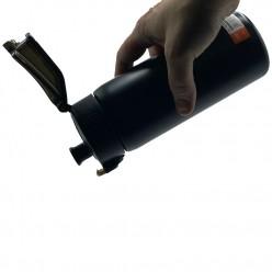 Термопляшка CASNO 450 мл KXN-6065 Чорна