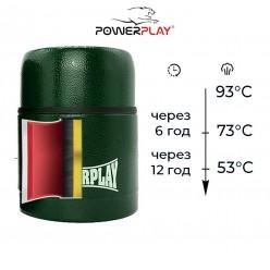 Термос харчовий PowerPlay 9003 Зелений 500 мл