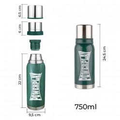 Термос PowerPlay 9001 Зелений 750 мл