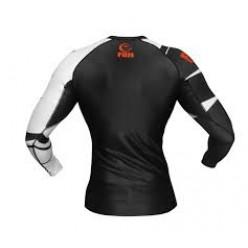 Рашгард Fuji Sports Freestyle IBJJF Ranked Rashguard Black Long Sleeve 88