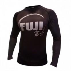Рашгард Fuji Sports IBJJF Ranked Rash Guard Black Long Sleeve