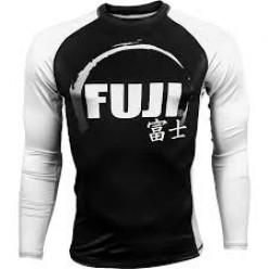 Рашгард Fuji Sports IBJJF Ranked Rash Guard White Long Sleeve