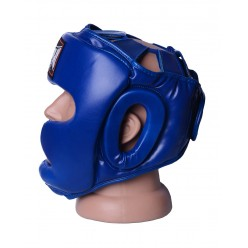 Боксерський шолом тренувальний PowerPlay 3043 Синій L