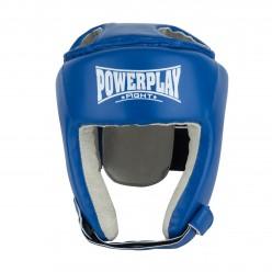 Боксерський шолом тренувальний PowerPlay 3084 синій XL