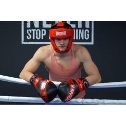 Боксерський шолом турнірний PowerPlay 3049 Червоний S