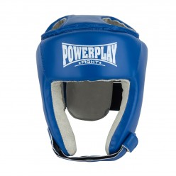 Боксерський шолом турнірний PowerPlay 3084 S синій