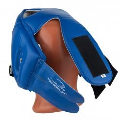 Боксерський шолом турнірний PowerPlay 3084 синий S
