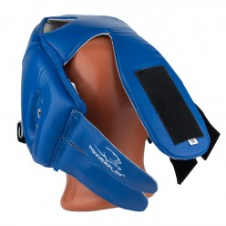 Боксерський шолом турнірний PowerPlay 3084 cиний M