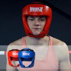 Боксерський шолом турнірний PowerPlay 3049 Синій M