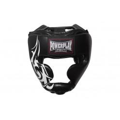 Боксерський шолом тренувальний PowerPlay 3043 XL Чорний