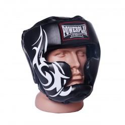 Боксерський шолом тренувальний PowerPlay 3043 Чорний XL