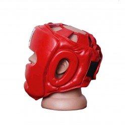 Боксерський шолом тренувальний PowerPlay 3043 Червоний XS