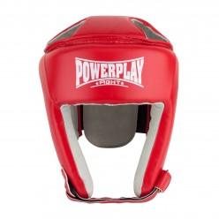 Боксерський шолом турнірний PowerPlay 3084 червоний M