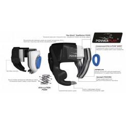 Боксерський шолом тренувальний PowerPlay 3044 Білий XL