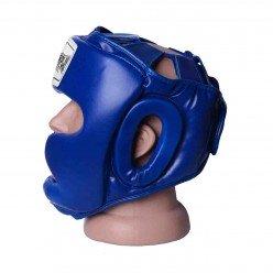 Боксерський шолом тренувальний PowerPlay 3043 Синій XS