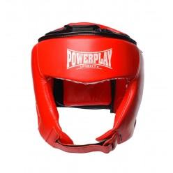 Боксерський шолом турнірний PowerPlay 3049 Червоний XL