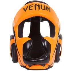 Шлем Venum Elite Headgear Neo Orange