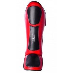 Захист гомілки і стопи PowerPlay 3032 Чорно-Червоний M