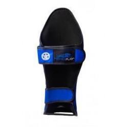 Захист гомілки і стопи PowerPlay 3032 Чорно-Синій XL